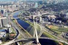 Ponte Estaiada. Foto: Caio Pimenta / SPTuris.
