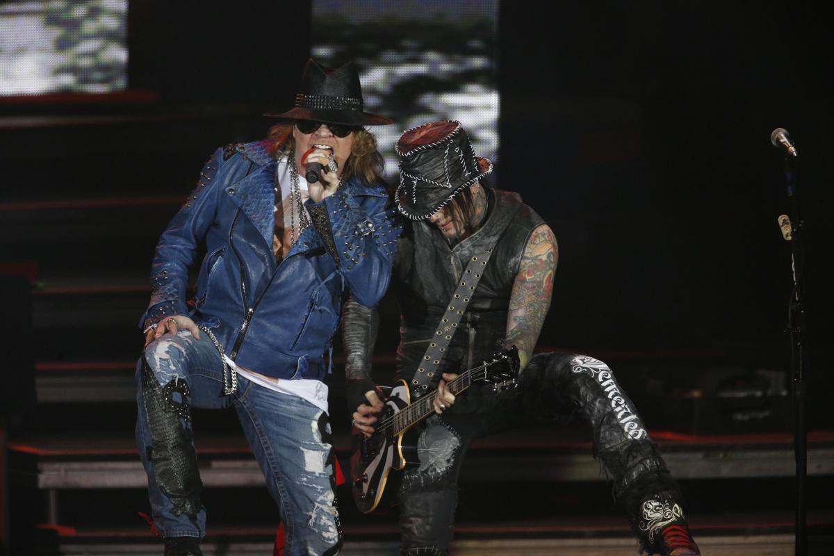 Guns N' Roses. Foto: Felipe Panfili/ Divulgação.
