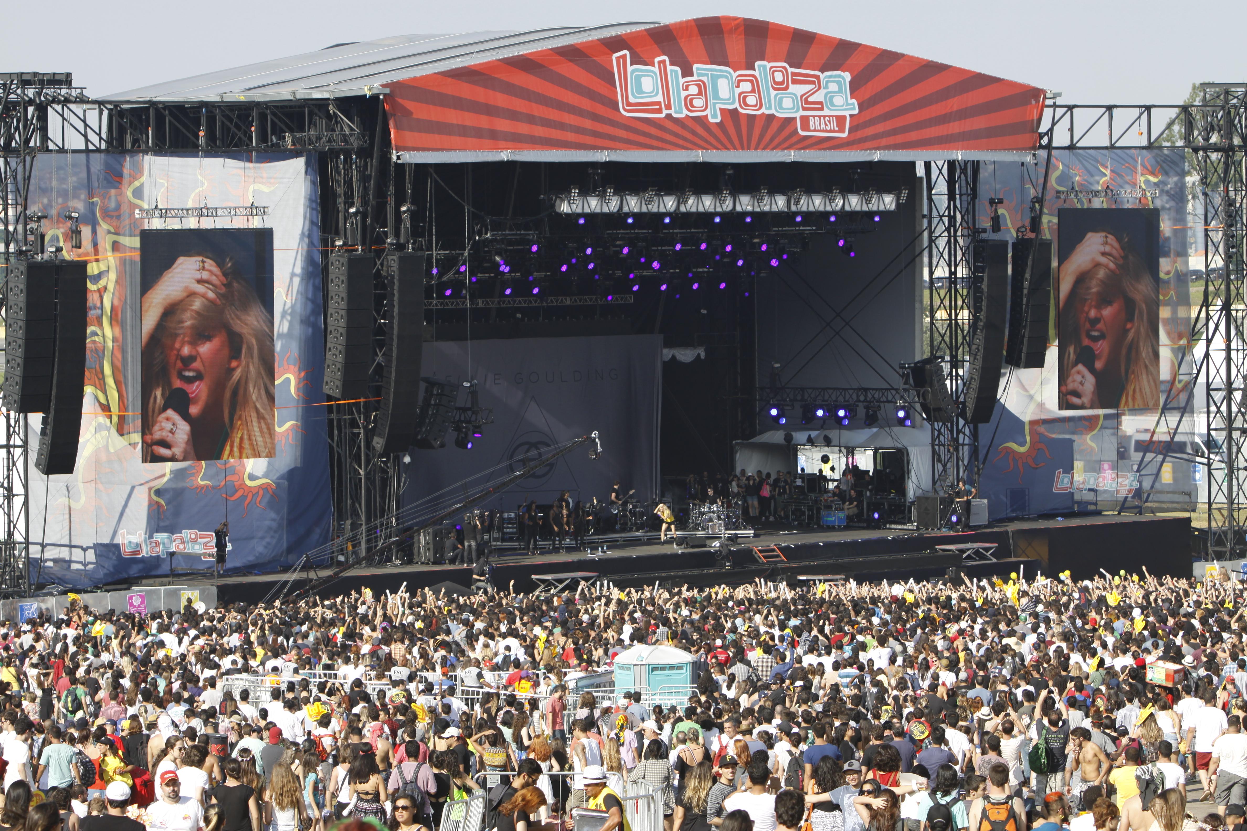 Em 2014, Lollapalooza estreou no Autódromo de Interlagos. Foto: Marcelo Iha/ SPTuris.