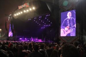 Show do Smashing Pumpkins no Lollapalooza Brasil 2015. Foto: Marcelo Iha/ SPTuris.