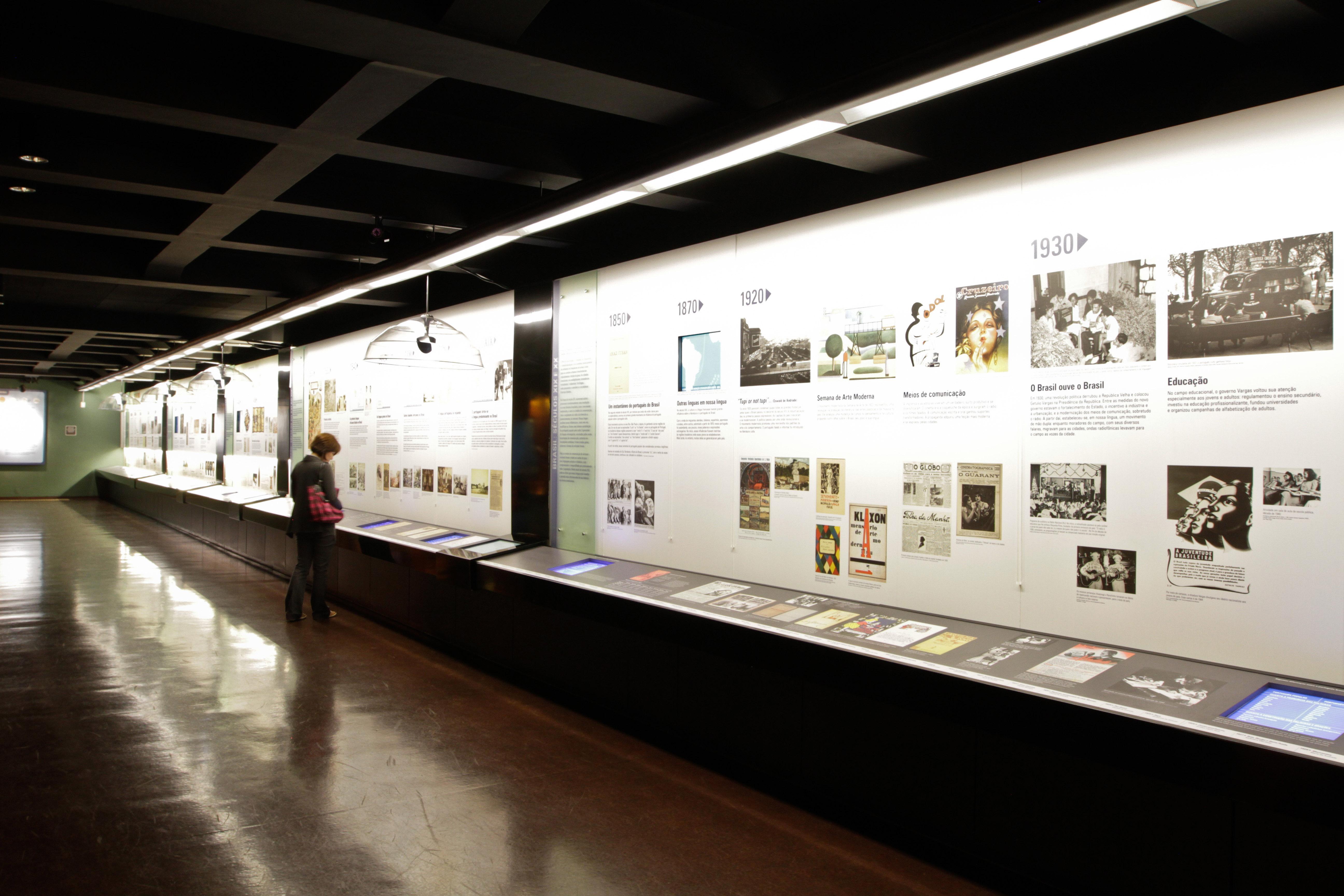 Museu da Língua Portuguesa. Foto: José Cordeiro/ SPTuris.