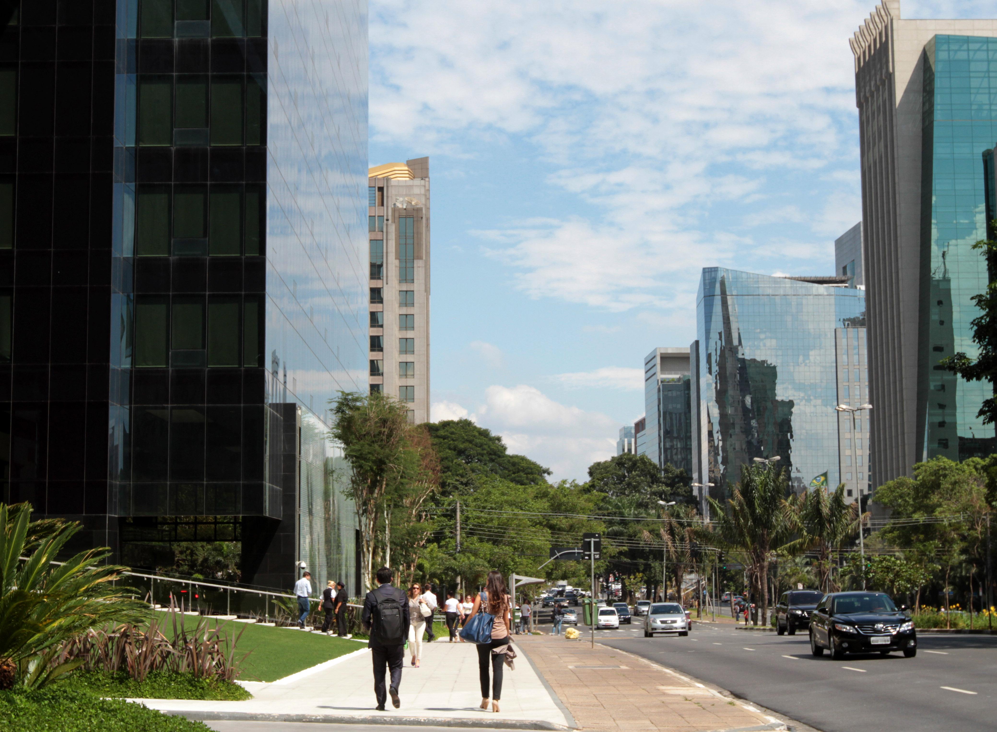 Av. Faria Lima concentra vários conjuntos empresariais. Foto: José Cordeiro/ SPTuris
