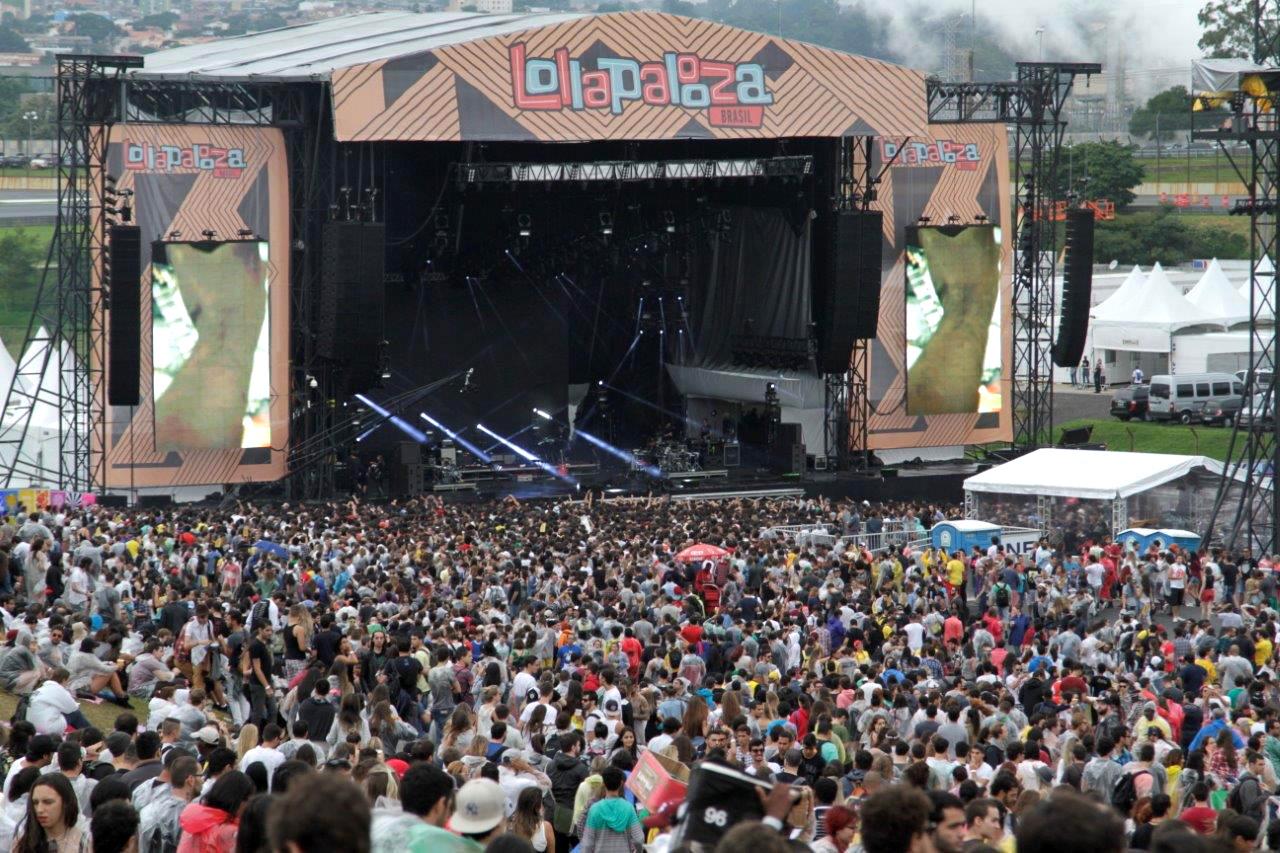 Festival Lollapalooza tem quarta edição seguida no Autódromo de Interlagos. Foto: Marcelo Iha/ SPTuris.