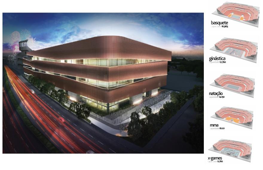 Consórcio Arena / Bf Capital / Lagardere / Moysés & Pires  (Reprodução).