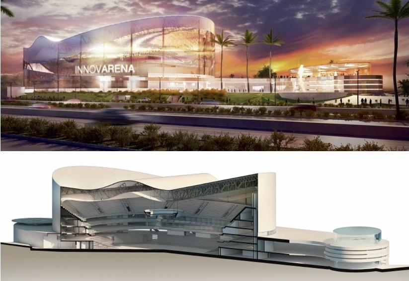 Consórcio Innova Arena (Imm, Gustave Pena Arq., Lumens Eng., Azevedo Sette (Reprodução).