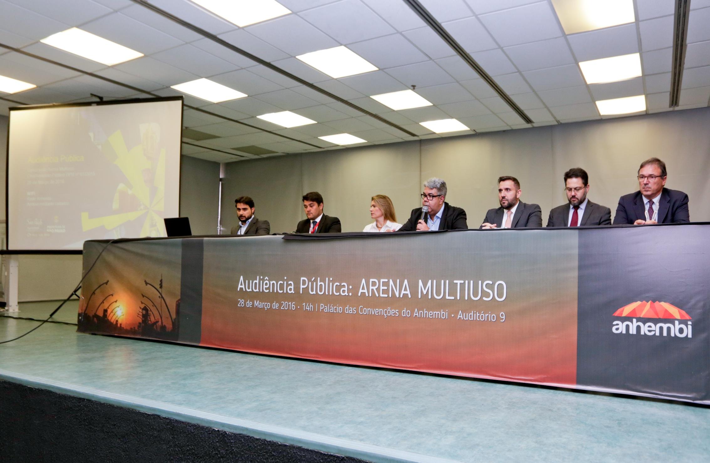 Arena Multiuso - audiência pública. Foto: José Cordeiro/SPTuris