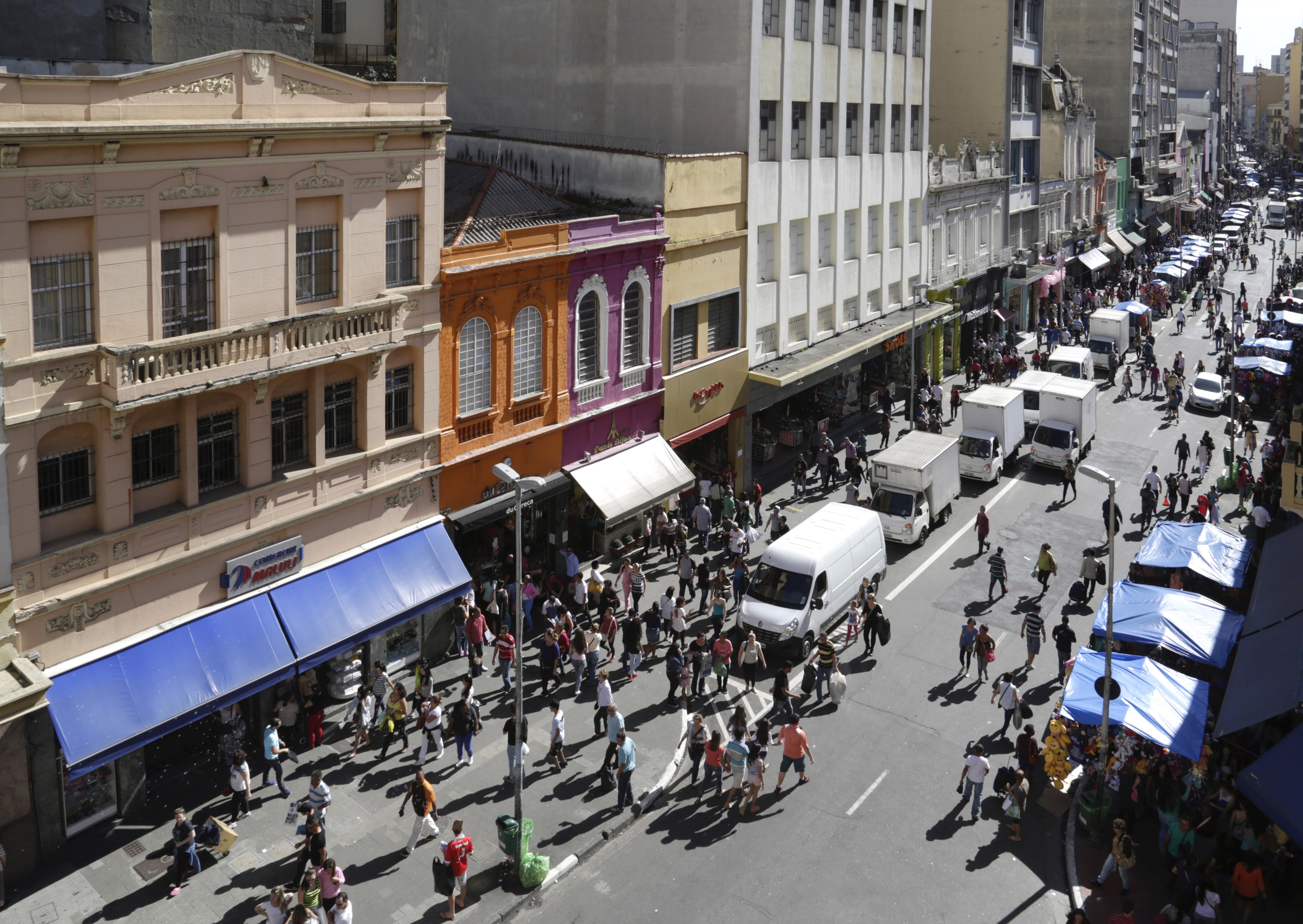 Rua 25 de Março. (Foto: José Cordeiro/ SPTuris)