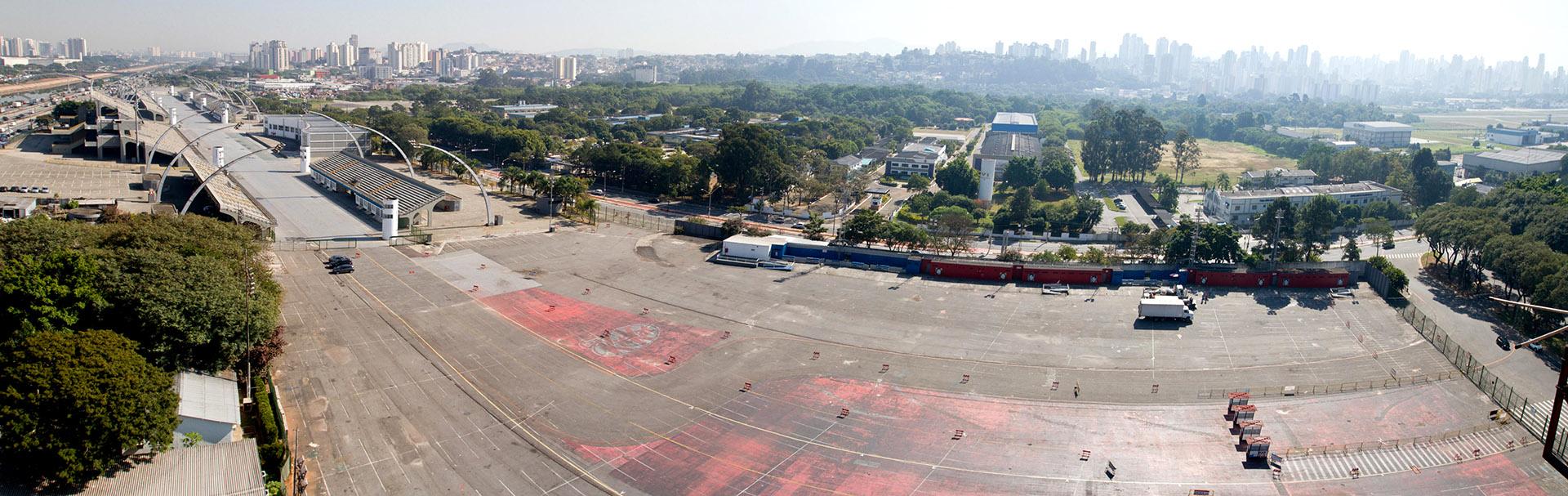 Vista do Polo Cultural e Esportivo Grande Otelo. Foto: Jose Cordeiro/ SPTuris