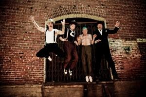 Banda Red Hot Chili Peppers. Foto: divulgação.
