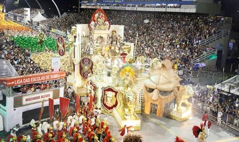 Carnaval 2017 - São Paulo (SP) - Desfile das escolas de samba do grupo Especial do Carnaval de São Paulo, no Sambódromo do Anhembi. Foto: Jose Cordeiro/SPTuris