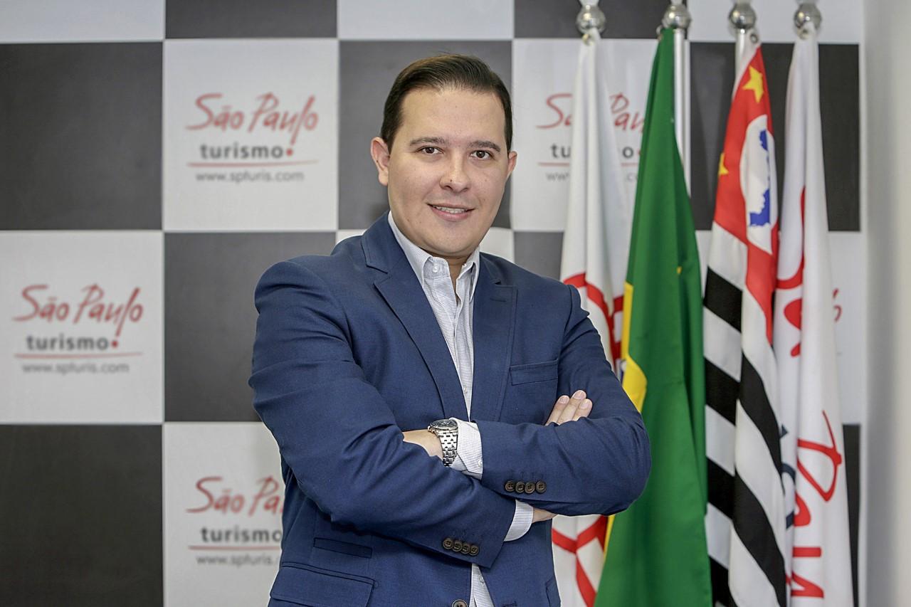 Rodrigo Kluska, presidente da SPTuris desde 19 de maio de 2020. Foto: Jose Cordeiro/ SPTuris.