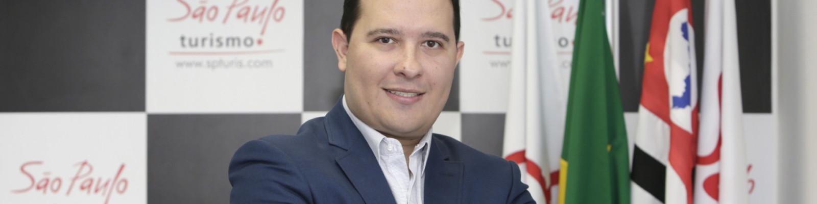Rodrigo Kluska Rosa - São Paulo (SP) - 13.03.2019 - Rodrigo Kluska Rosa, presidente da São Paulo Turismo S/A. Foto: Jose Cordeiro/SPTuris